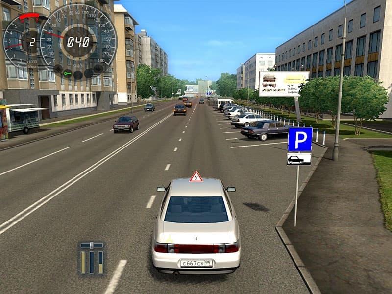 Игры симулятор вождение машины скачать