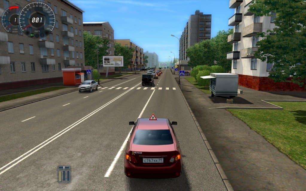 Скачать симулятор вождения автомобиля играть на руле