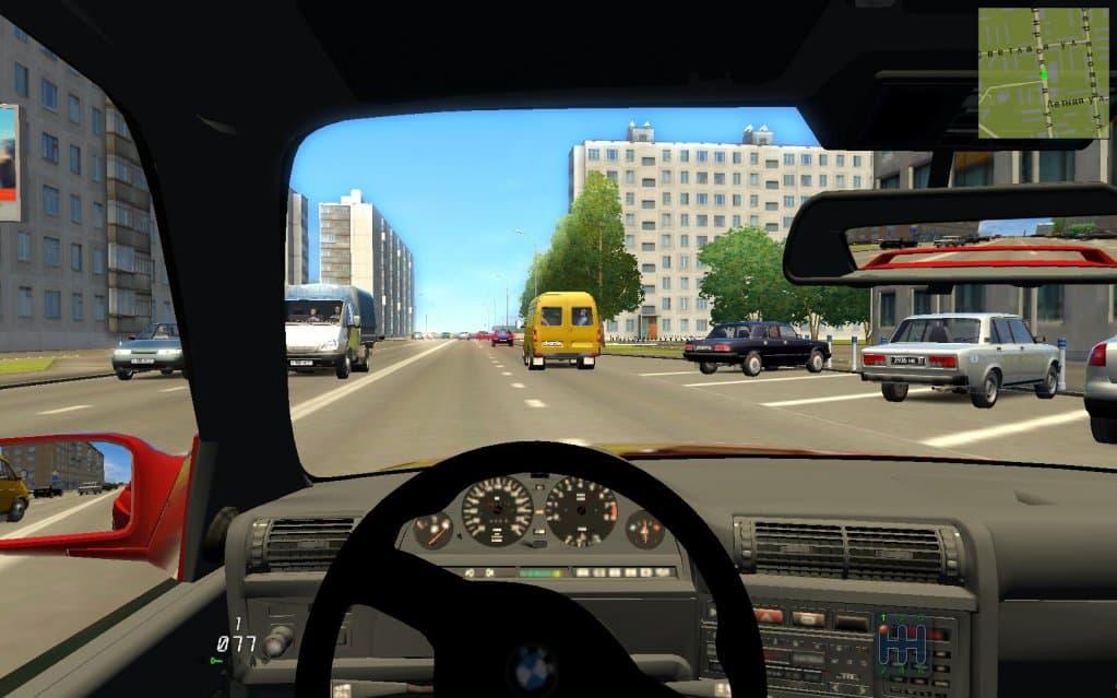 Вождение по городу онлайн симулятор скачать