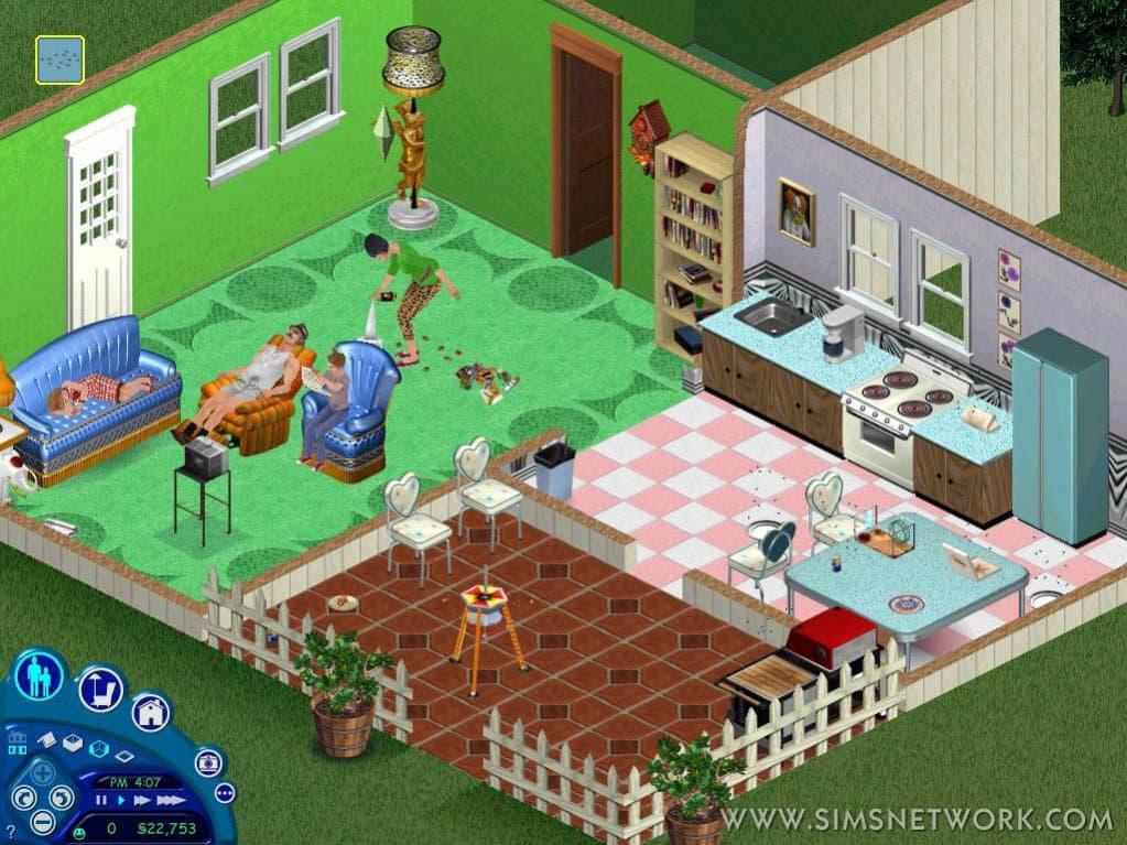 Скачать Симс 1 торрент бесплатно Sims 1 скачать