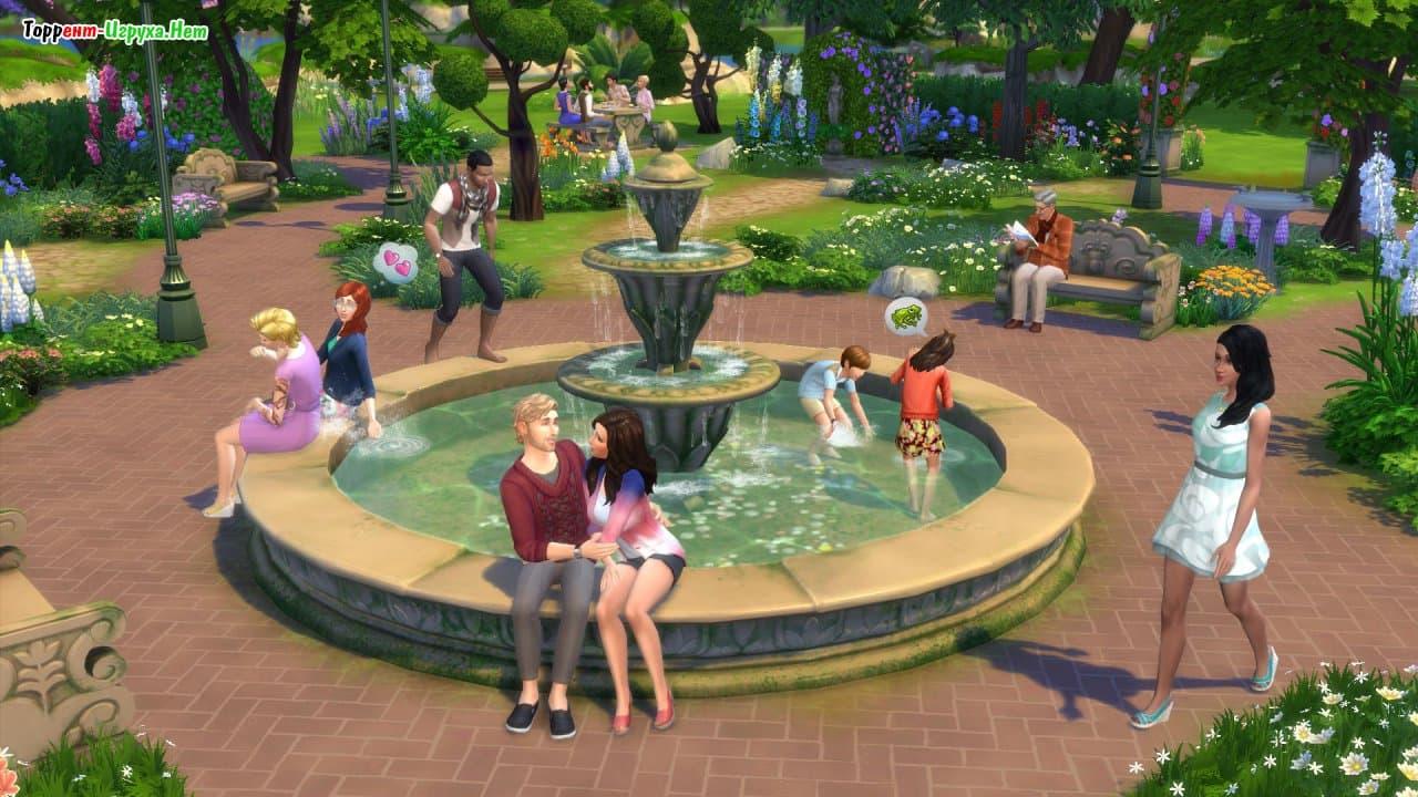 The sims 4 «романтический сад» – новая информация.
