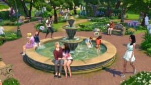 Симс 4 Романтический сад