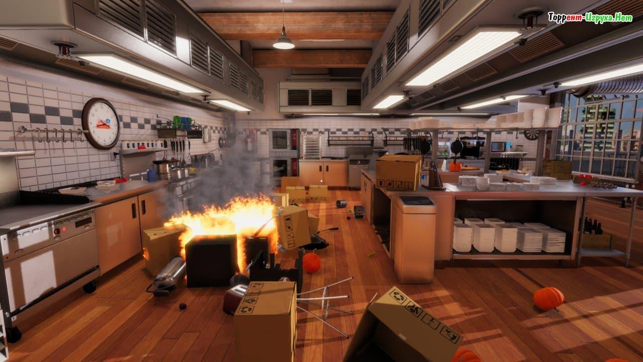 Cooking simulator for Cuisine simulation