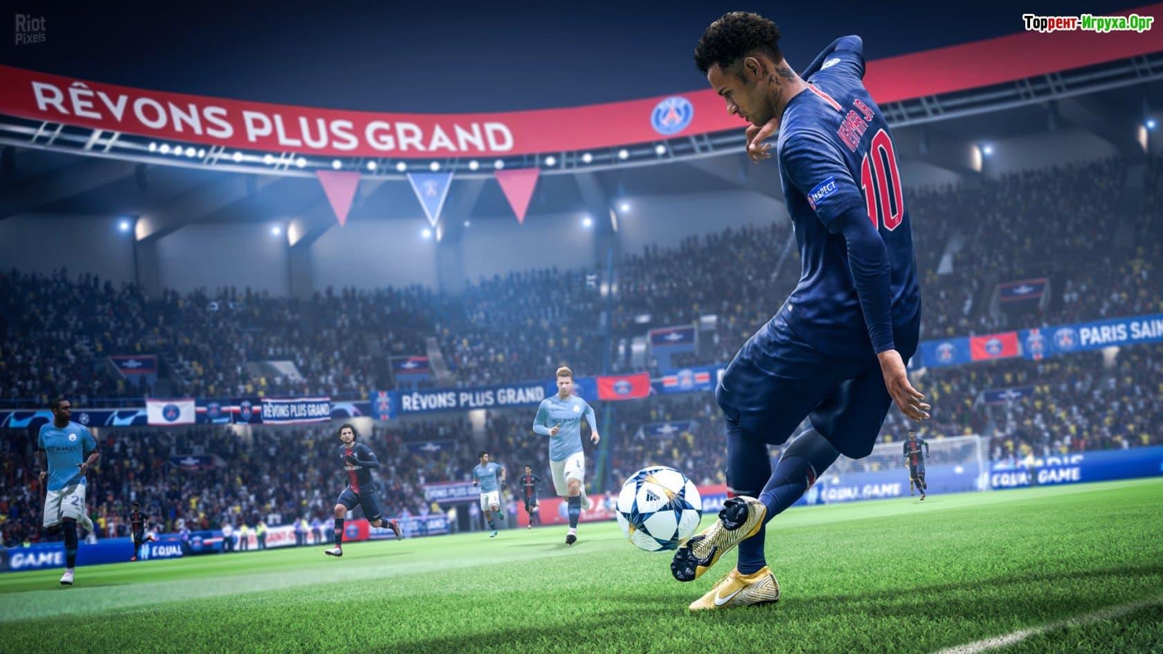 Игра fifa 2019 года новые фото