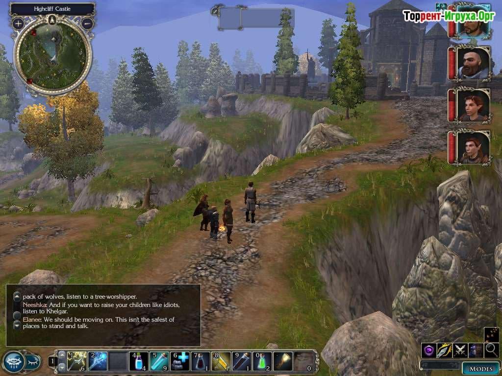 Скачать Neverwinter Nights - Diamond Edition торрент бесплатно